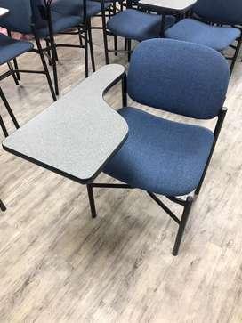 Lote de 52 sillas universitarias