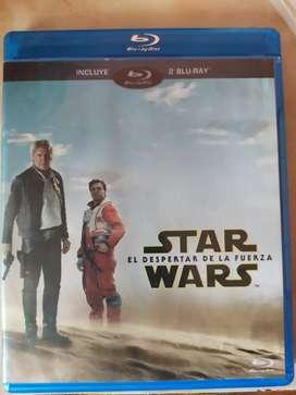 Star wars el despertar de la fuerza Blu-ray