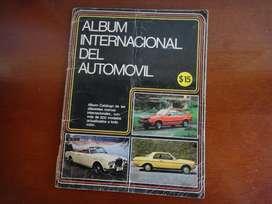 Álbum Internacional Del Automóvil Totalmente Lleno Ed 1200 C