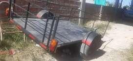 trailer sin uso