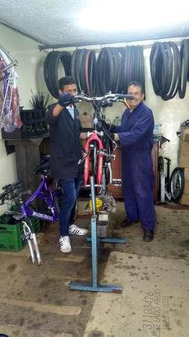 mantenimiento y ensamble de bicicletas