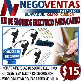 KIT DE SEGUROS ELECTRICOS PARA CARRO