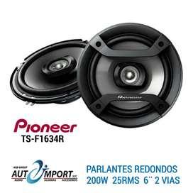 PARLANTES PIONEER 6¨ alta potencia