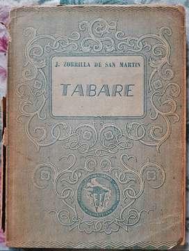 Tabaré - Juan Zorrilla De San Martín - Ediciones SELA 1947