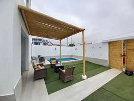 Alquilo casa Playa Mejia