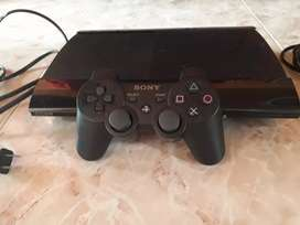 Play station 3 ultra slim segunda mano  Zuldemayda