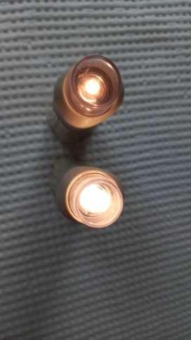 Linternas EVERSAFE dos, usadas.