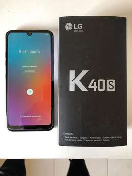LG k40s impecable