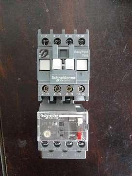 vendo 4 contactores 1 nuevo y 3 de usados