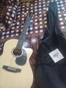 Oferta de Guitarra Electroacustica seminueva.