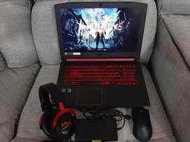 Gaming Acer Core i5-8Th H, Ram 20 GB, Disco SSD 256 GB, 16 GB Optane, Targeta GTX 1050 De 4 GB.