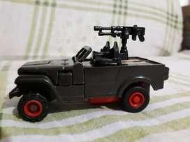 TRANFORMERS Willys Jeep camión militar