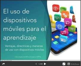 Se asesoran tareas de plataformas virtuales