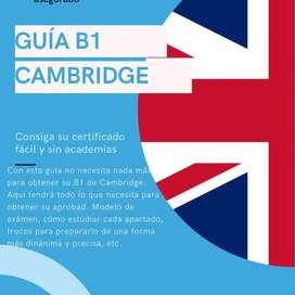 CURSO DE INGLÉS B1 CAMBRIDGE
