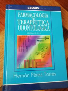 Farmacologia y terapéutica odontologica, hernan perez, 2da edición