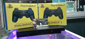PlayStation 2 Slim, 2 Controles Nuevos Con Juegos Y Garantía, Ubicados En Palmira