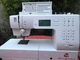 Maquina de coser sigma imagin RT
