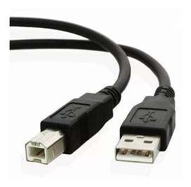 CABLE USB IMPRESORA 3m TIPO A B reforzado CALIDAD GARANTIA ENVÍOS