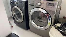 Lavadora secadora samsung y secadora lg