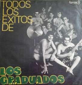 Todos Los Exitos De Los Graduados (1983) Disco Vinilo
