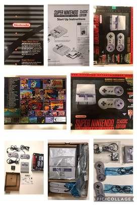 Snes Classic Mini Original -  Nintendo