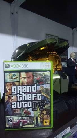 GTA 4 Caja Original Xbox 360 con manual