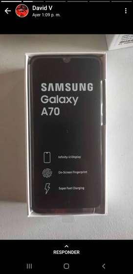 Vendo celular samsung A70 nuevo