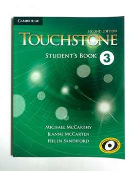 Libro de Inglés TOUCHSTONE 3 ¡INVIERTE EN TI!
