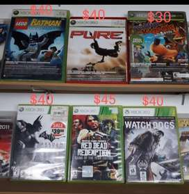 Películas Xbox 360 Originales