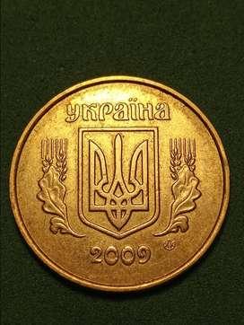 #Moneda Ukrania 50 Kopiyok 2009