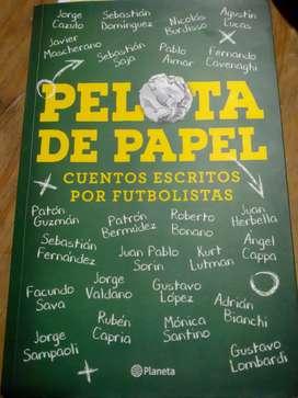 PELOTA DE PAPEL 1 nuevo ( cuentos escritos por futbolistas )