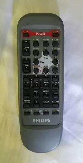 Control remoto philips televisor vhs original oferta