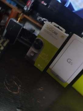 LG g5 en perfecto estado con camara 360 y lentes de realidad virtual