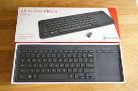 Teclado Inalámbrico All In One Media Keyboard Microsoft