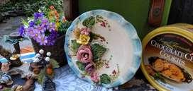 Oportunidad!! hermoso plato de ceramica