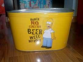 Hielera Los Simpsons