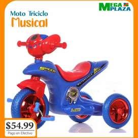 Moto triciclo para niño