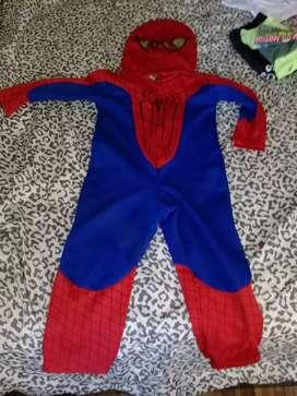 Traje de spiderman