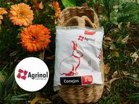 Alimento concentrado conejina AGRINAL bolsa de 1 kilo 4.700 pesos