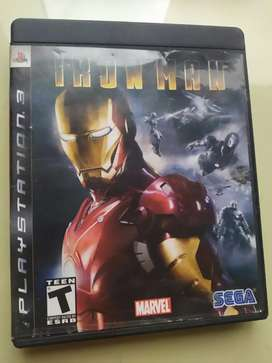 Videojuego Iron Man PS3 original