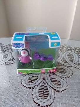 Peppa pig figura con accesorio