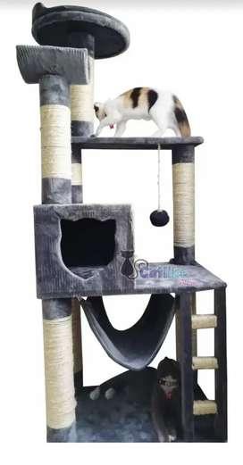 Gimnasio para gatos cuna
