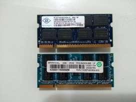 Memoria Ram dd2 / dd3