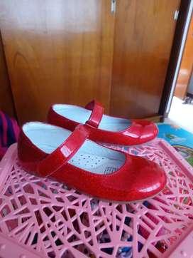 Zapatillas rojas niña BOSI