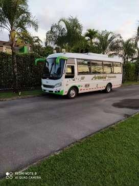 Buseta Jac modelo 2014