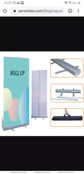 Roll up  2 unidades