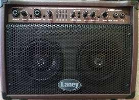 Amplificador Guitarra Acústica Laney La 35c Con Estuche