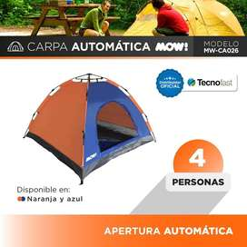 Promo! Carpa Iglu 4 Personas Automatica Camping Nuevas