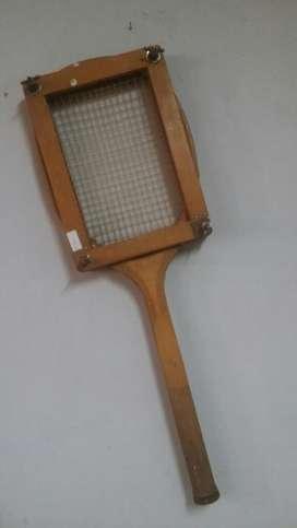 Raqueta Antigua. de Tenis