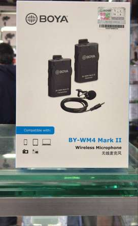 Micrófono BOYA BY-WM4 Mark II